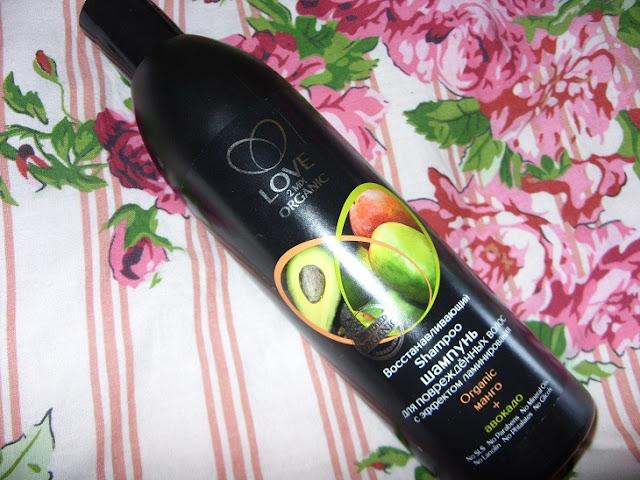 Recenzja: Love2MIX Organic Organiczny Szampon Regeneracyjny Z Efektem Laminowania - Ekstrakt Z Mango I Awokado - Dla Zniszczonych Włosów