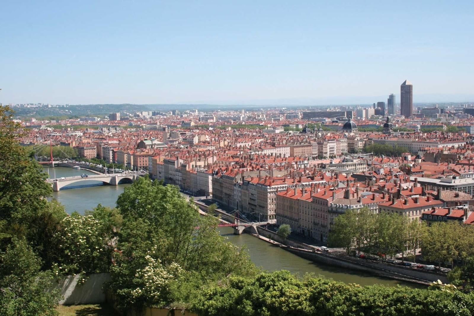 Belvédère Abbé Larue Jardin des Curiosités vue panoramique - visite guidée de Lyon - Nicolas Bruno Jacquet