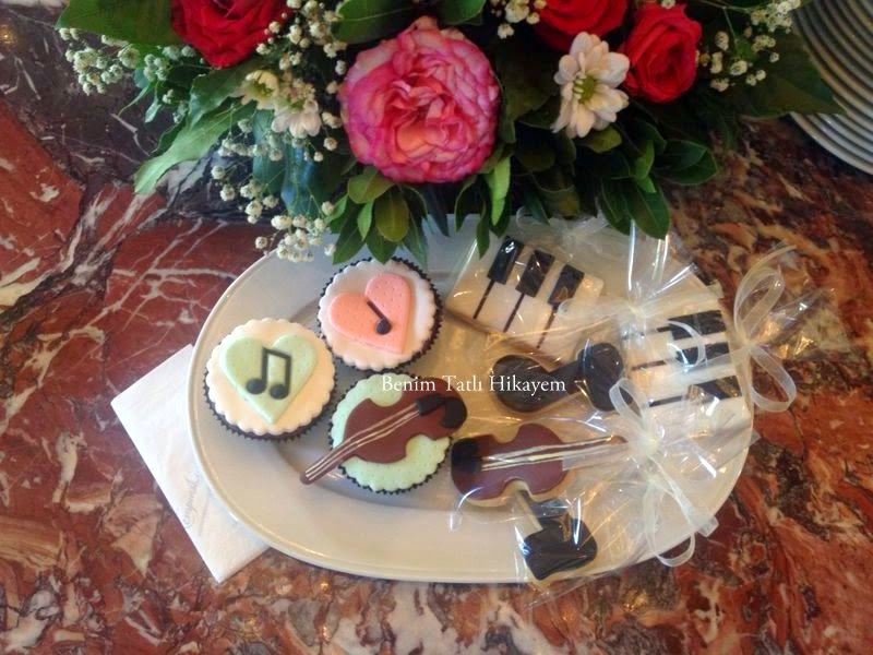 kurumsal kurabiye, cupcake