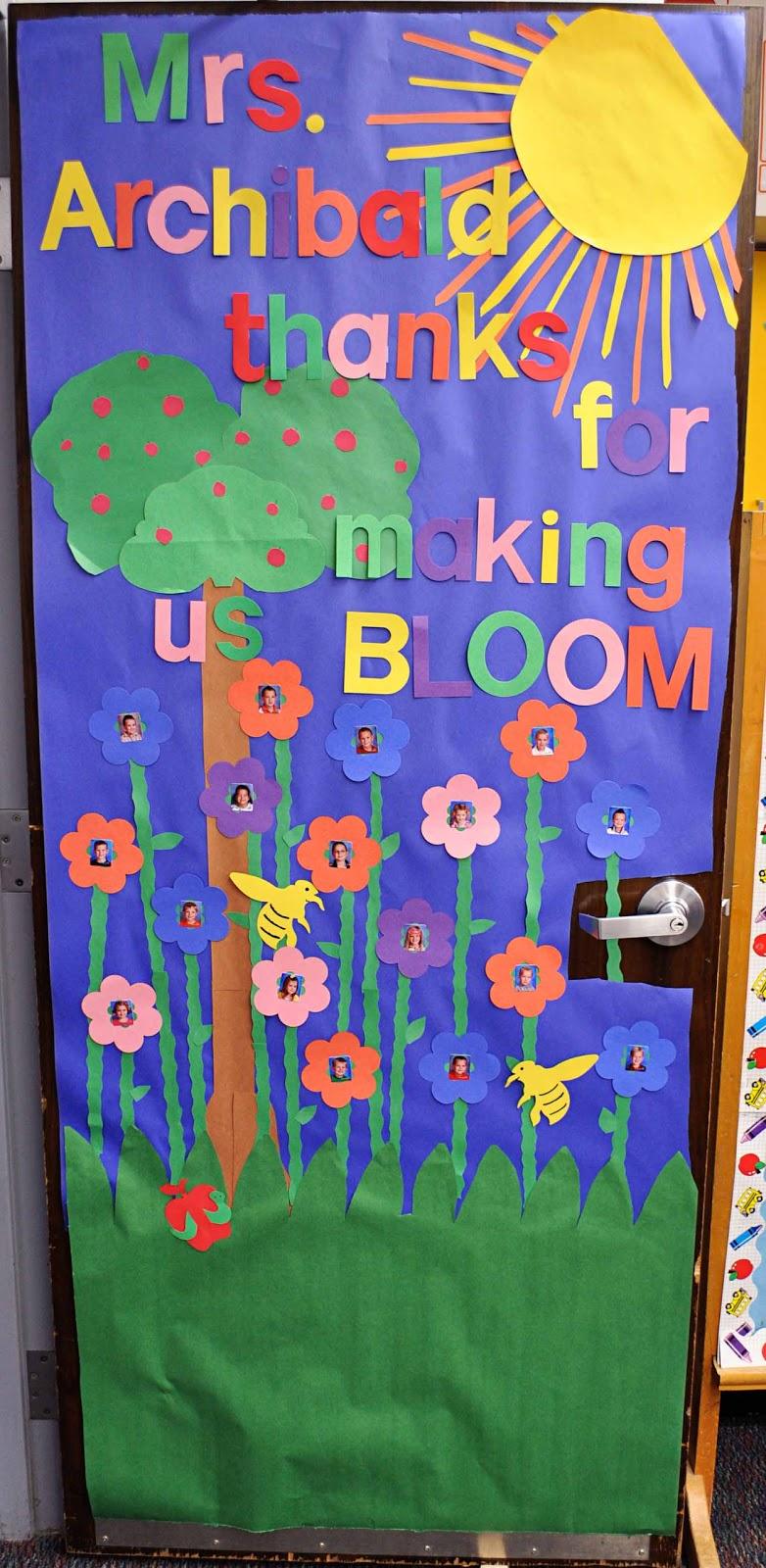 Preschool Teacher Appreciation Door Decorations
