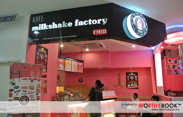 MilkShake Factory Worthybook Drinks