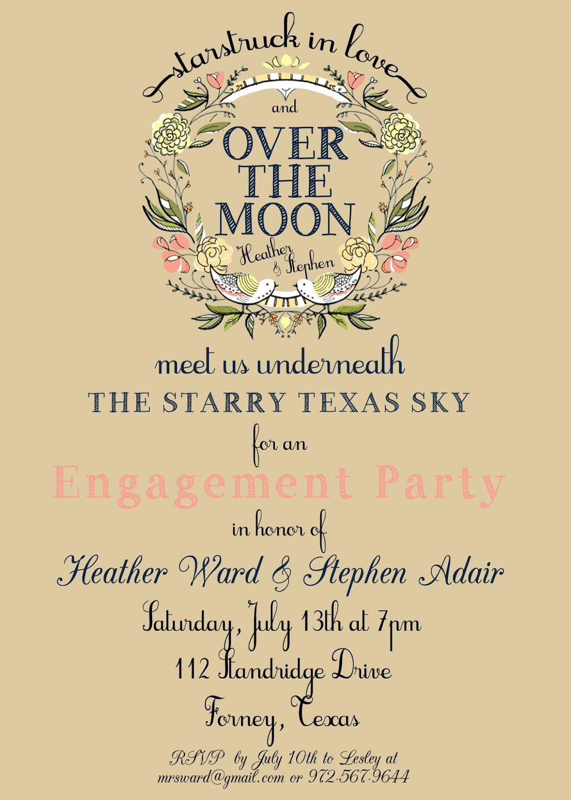 Invitations For Engagement with nice invitations template