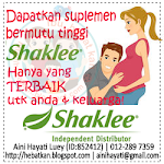 Pengedar Sah Shaklee Anda