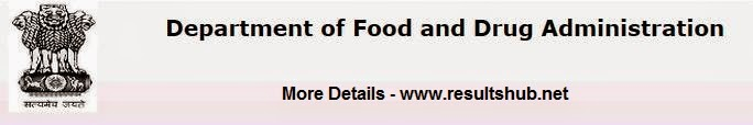 Maharashtra Food & Drug Department Recruitment 2014