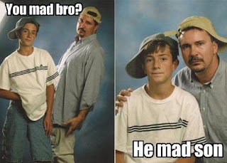 funny fail father and son picture