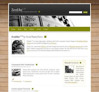 template per Blogger: ZenLike