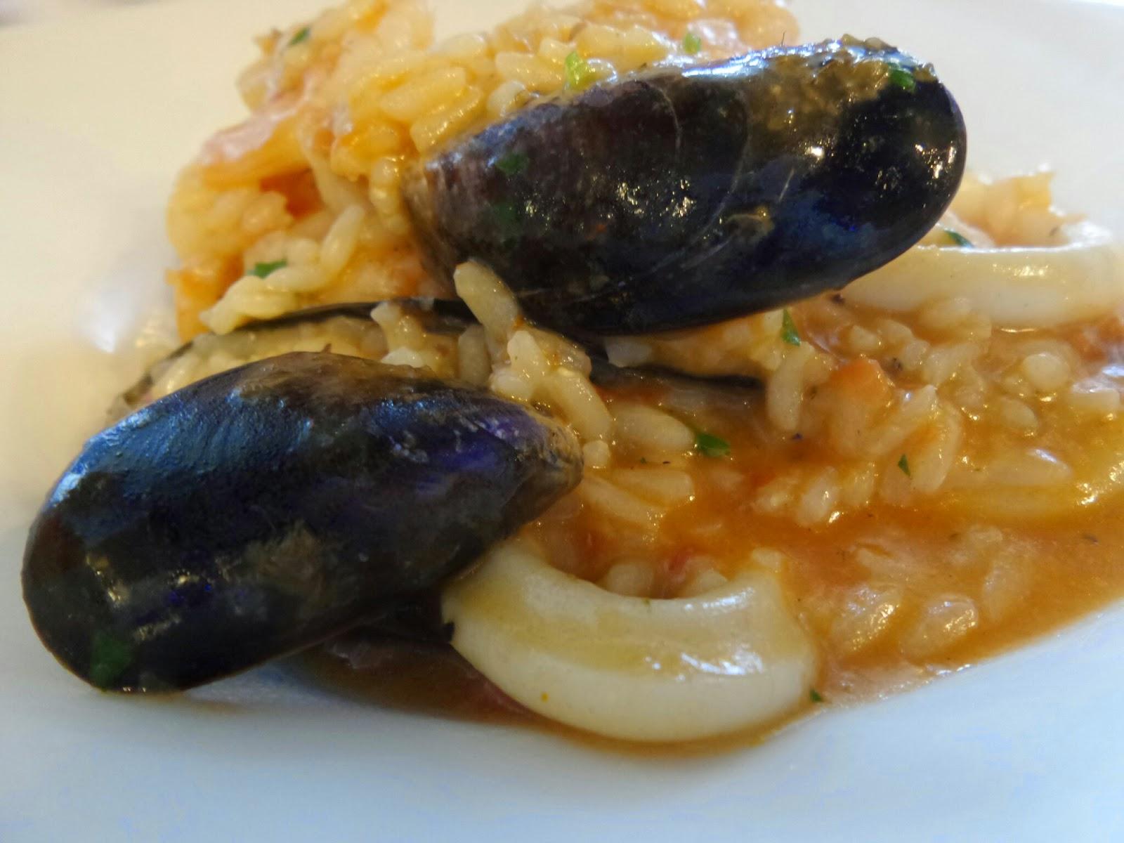 Zizzi's Risotto Pesce