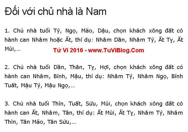 Chon Tuoi Xong Nha Dep