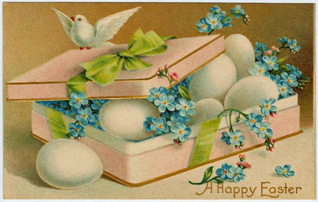 vintage everyday 15 Colorful Vintage Easter Cards From The Early – Vintage Easter Cards