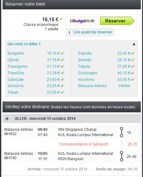 Error fare Malaysian Airlines