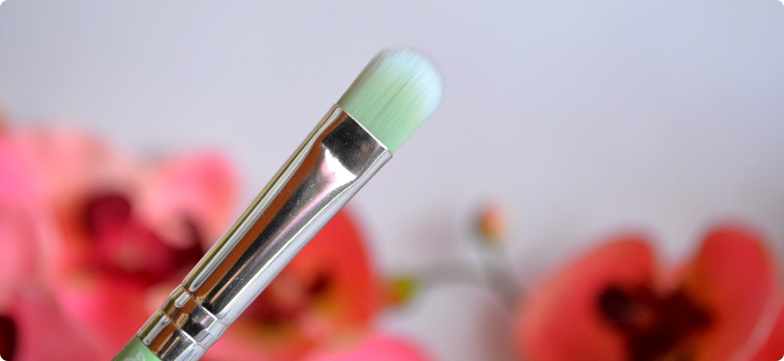 Review essence Bloom Me Up Tools EYESHADOW BRUSH BLOW MY MINT