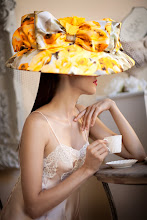 "Hats I Created In My Atelier: ""Gossip Chic"""
