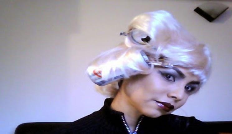 peinado y maquillaje para halloween