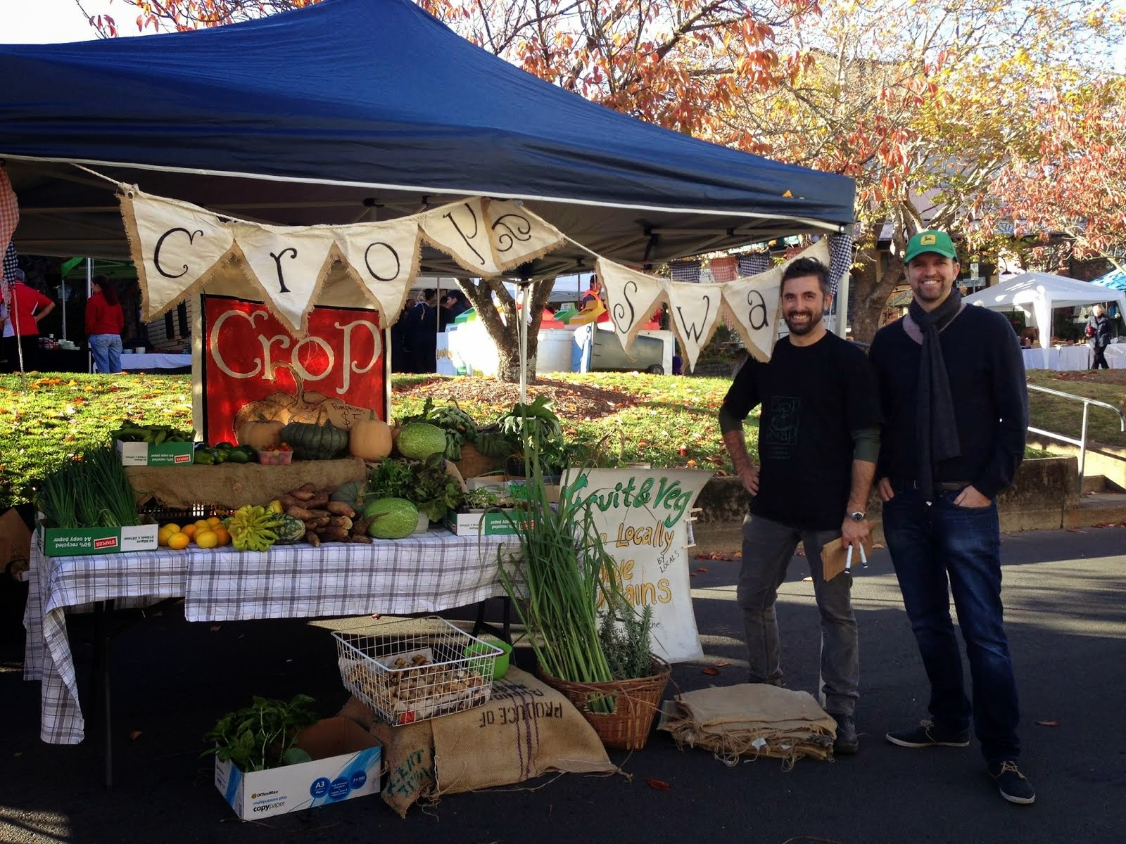 our stall at Leura Harvest Festival 2014