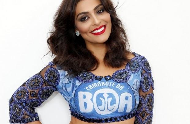Juliana Paes musa do Camarote da Boa para o Carnaval 2015