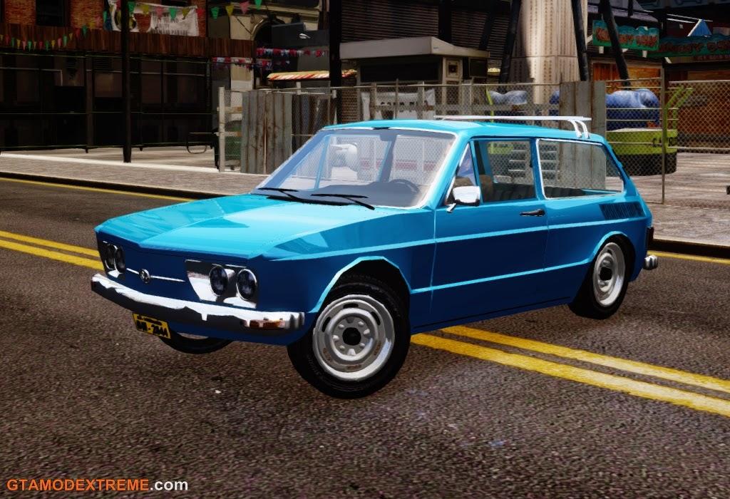 Download carro Volkswagen Brasilia 1975 Para GTA IV