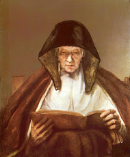 Rembrandt.  Old Woman Reading