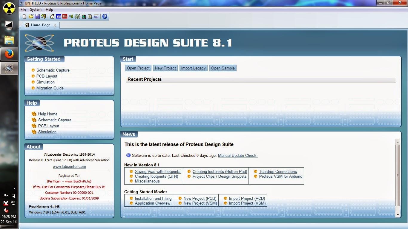 Skyleet Proteus Design Suite V81 Sp1 Full License Circuit Simulation