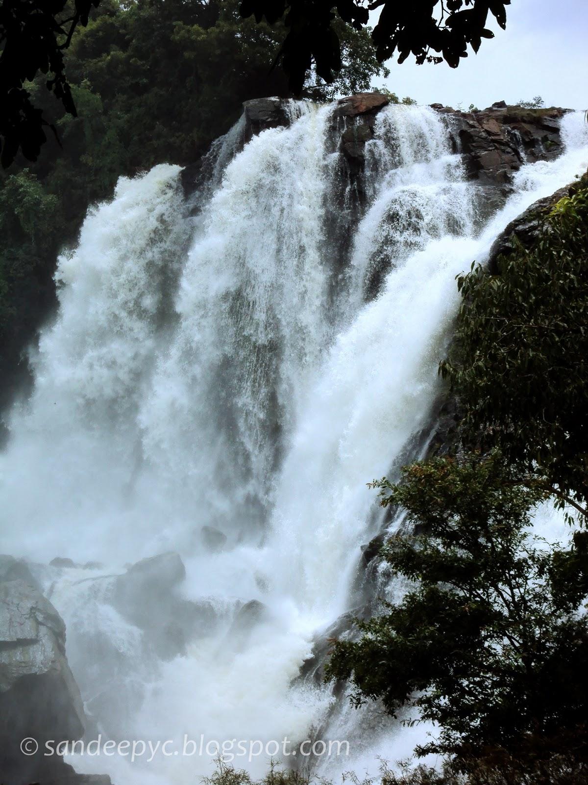 Bharachukki falls part 3