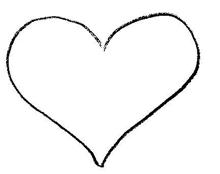 desenho de coração para imprimir e pintar desenhos para imprimir e