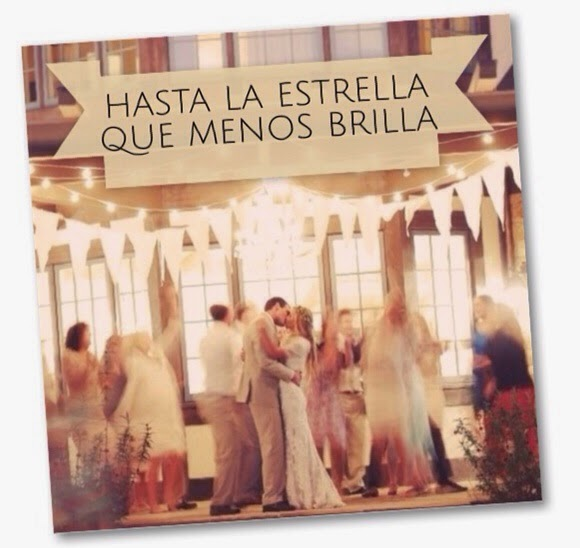 Hasta la estrella que menos brilla - ideas para una boda diferente y personal