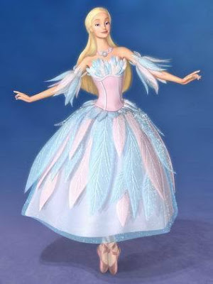 Barbie as Odette in movie Barbie of Swan Lake