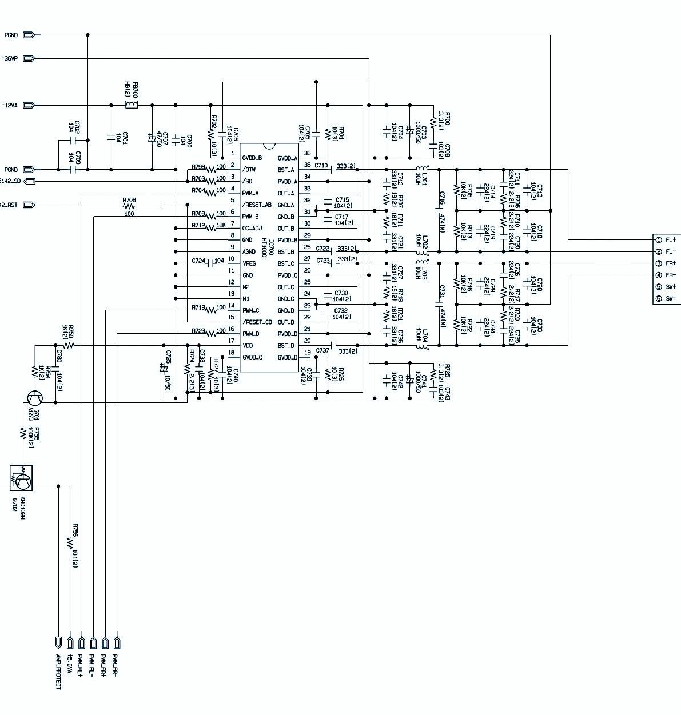 LGXCS62F – LGXC62 – MINI HI-FI SYSTEM – SCHEMATIC DIAGRAM ...