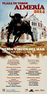 Almería - Cartel de Feria Taurina 2014