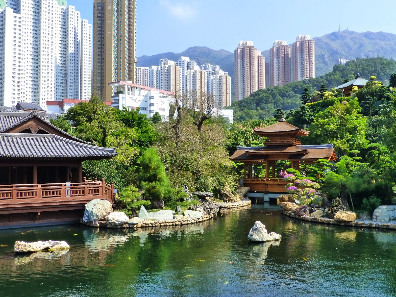 Cath hk nan lian garden un jardin traditionnel for Jardin hong kong