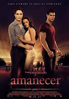 Cartel de la película La Saga Crepúsculo: Amanecer. Parte 1