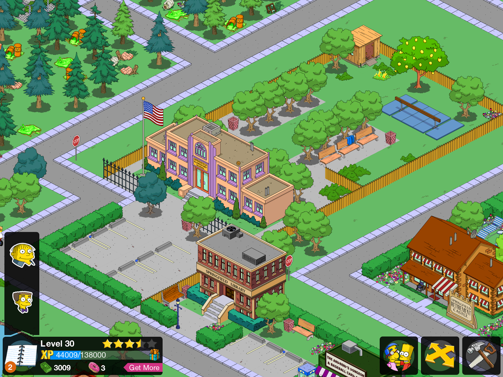"""Eyerex: The Simpsons Tapped Out """"Town Planning"""""""