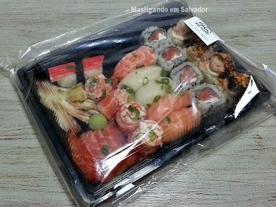 Nago Sushi: Embalagem