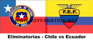 Chile Ecuador por Clasificatorias a Brasil 2014