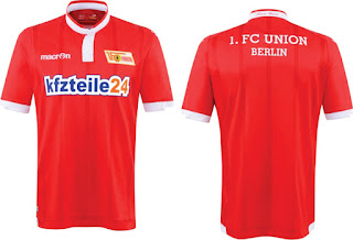 gambar detail baju bola musim depan Jersey Union Berlin Kandang 2015/2016 di enkosa sport