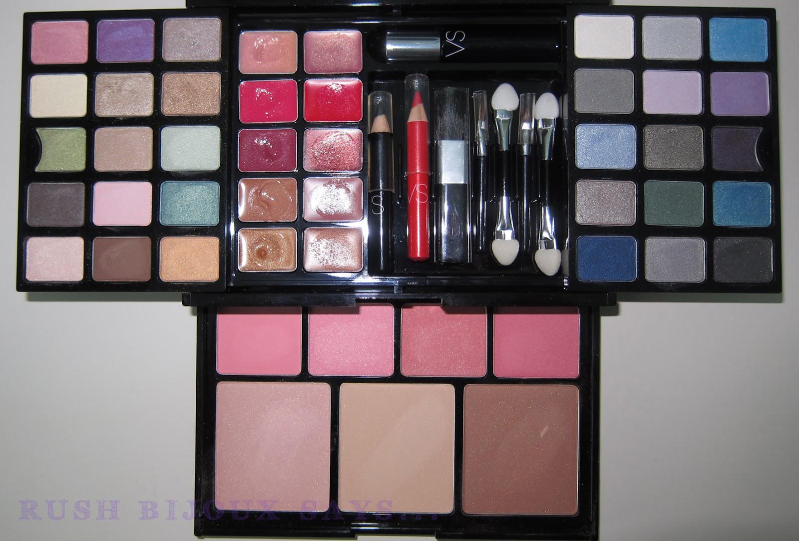 Rush Bijoux Says Victorias Secret Ultimate Makeup Kit Swatch