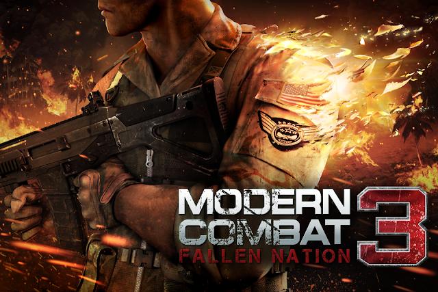 Modern Combat 3: Fallen Nation (Mali400-adreno-tegra 2-PowerVR ) (APK + datos SD) Gratis