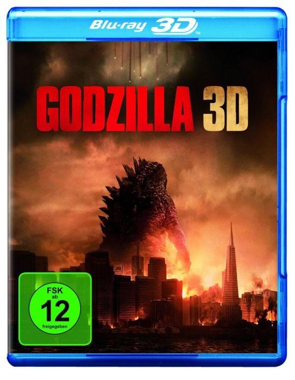 Godzilla 3D Blu-ray