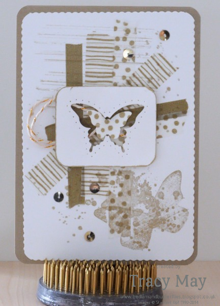 Stampin up Watercolor Wonder Washi tape Tracy May card making ideas