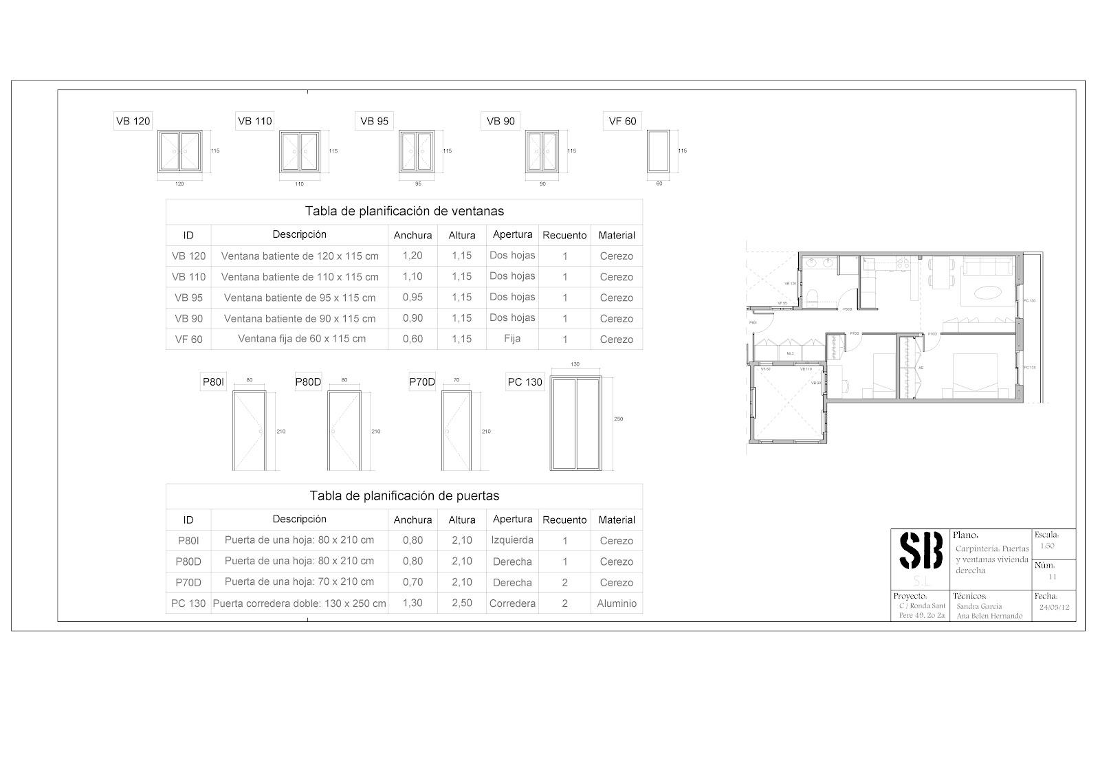 Sanbel s l planos definitivos for Planos de carpinteria de madera