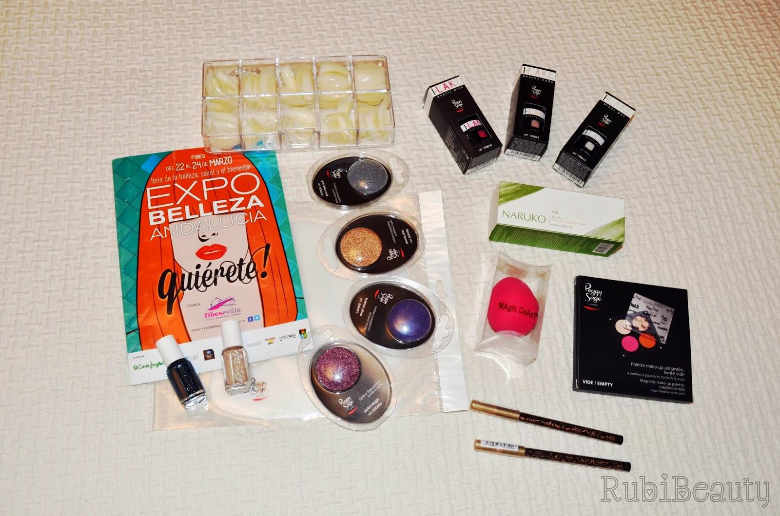 rubibeauty expobelleza sevilla 2014 compras
