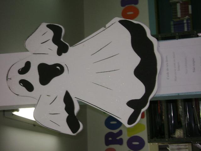 decoracao sala de leitura na escola:Decoração na escola HALLOWEEN