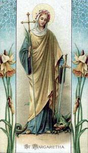 santos anjos e oraÇÕes santa margarete da antióquia
