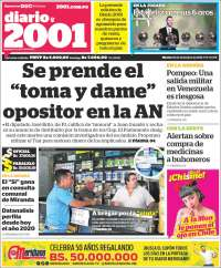 03/12/2019 PRIMERA PAGINA DE 2001 DE VENEZUELA