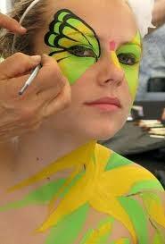 Bikin Sendiri Cat Air Warna - Face painting/Lukis Wajah atau Menggambar