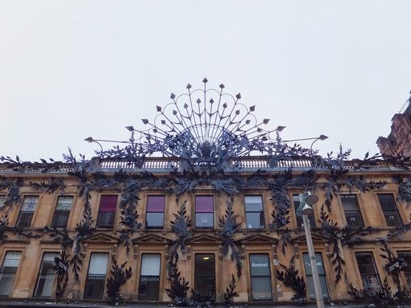 Glasgow Scotland écosse West End princes square