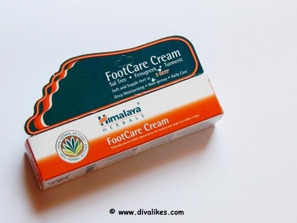 himalaya herbals foot care cream