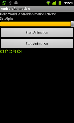 Create AnimationDrawable using Java code