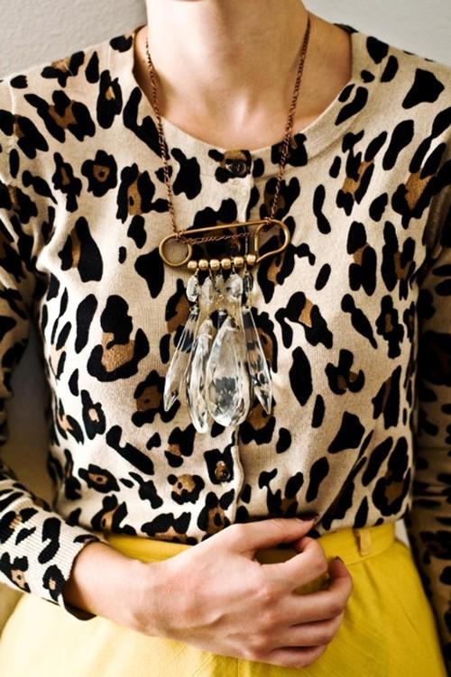 Leopard Cardigan from Sadie & Stella