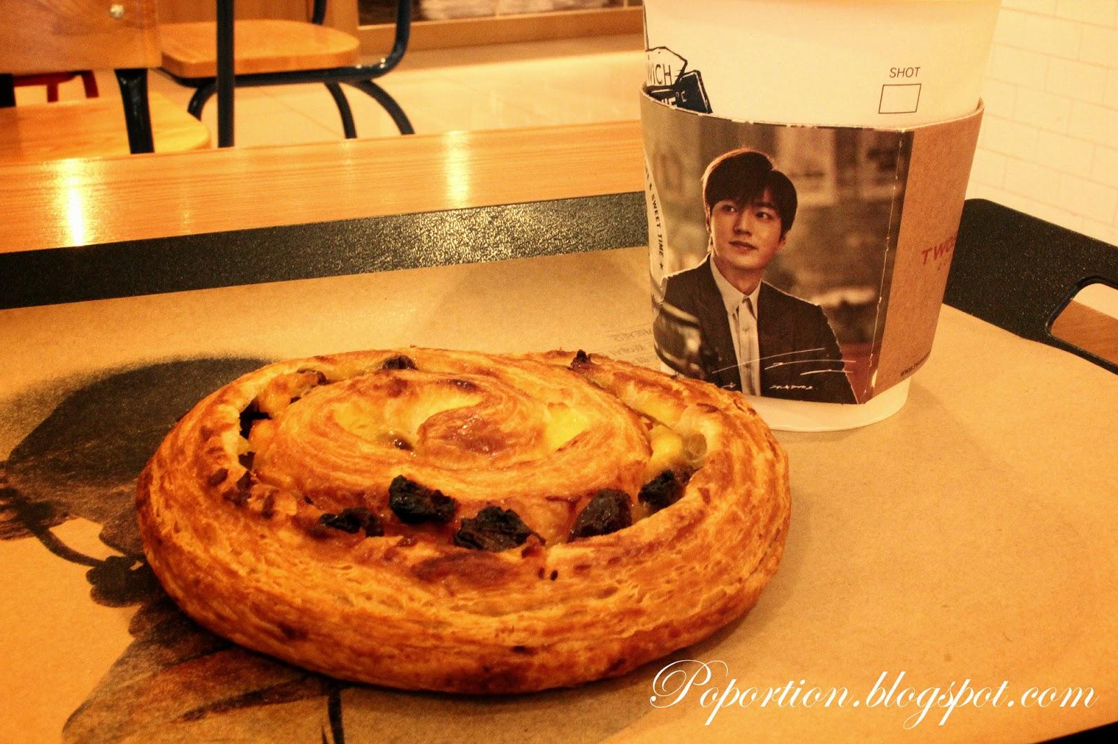 pain au raisin danish english breakfast tea lee minho oppa