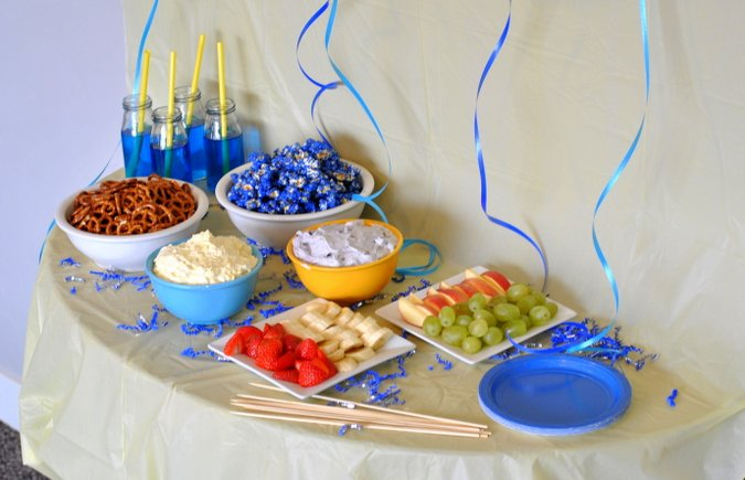 snack food ideas for minions movie party